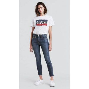 Levi's Wedgie High Waisted Skinny Jeans 27